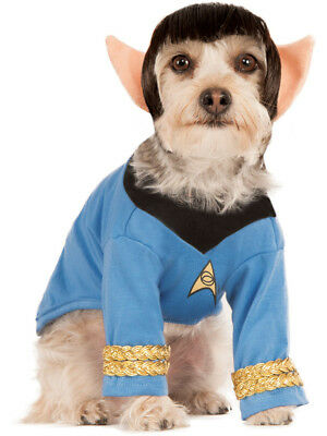 Star Trek Blue Science Officer Spock Pet Dog Costume