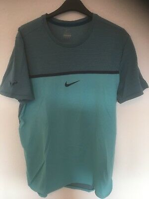 Nike Tennis Rafael Nadal French Open 2016 Shirt Small