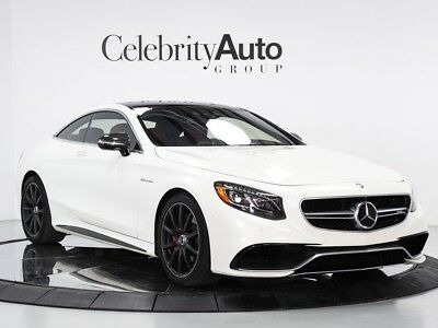 S-Class S63 AMG $200K MSRP 2016 MERCEDES BENZ S63 COUPE $200K MSRP
