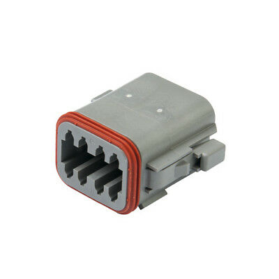 DEUTSCH DT06-08SA DT Series 8-Way Plug