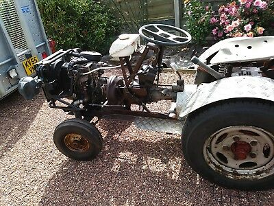 Mini tractor-tug-bug-fun vehicle,  barn find, keep the kids happy this summer