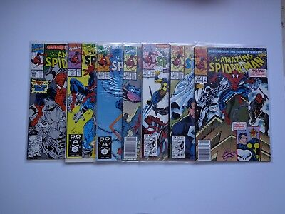 amazing spiderman 350,351,352,353,354,355,356 book lot