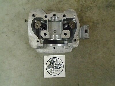 1980 Honda Xr200 Cylinder Head And Valve Assembly