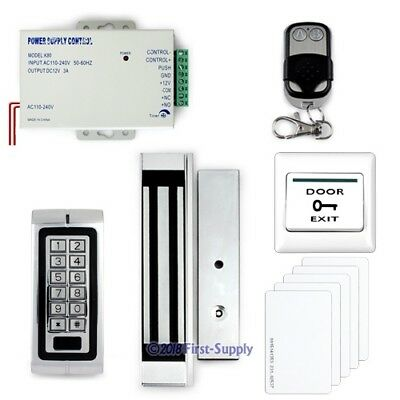 DIY Complete Kit RFID Door Access Control System +Remote Control +Magnetic Lock