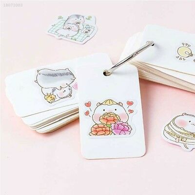 Kawaii Novelty Stickers Decoration Sticker PVC Waterproof Decal Creative 754E