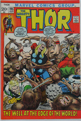 Thor #195-198, #200, #204-207, #210 (Lot of 10)