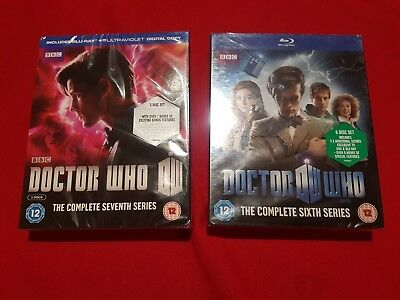 Doctor Who The Complete Sixth Series And Seventh Series Brand New Sealed Blu Ray