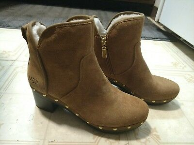 f274b4c8a5b BRAND NEW UGG Australia CAM II Ankle Boots 1013599 Chestnut Suede Size 7