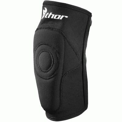 Thor NEW Mx Static Black Elbowguards Dirt Bike Adult Motocross Elbow Guards Set