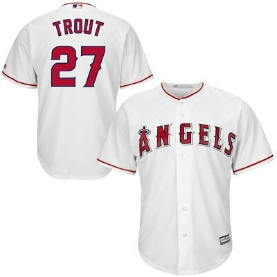 Neu Mike Trout Los Angeles Angels Cool Base MLB Baseball Spieler Sport Trikot