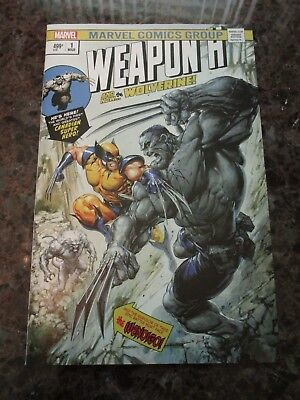 Weapon H #1 Clayton Crain Color  Trade Dress Variant Limited To 3000 Nm