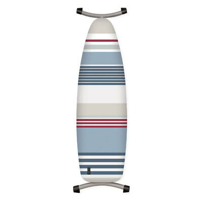 Sass Striped Ironing Board Cover Padded Thick Felt Cotton Fitted Cover 144x52cm