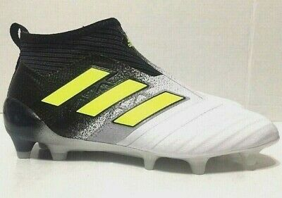 958fcabeb66 Adidas Ace 17+ Purecontrol FG Jr Soccer Cleats White Black S77171 Youth  Size 5