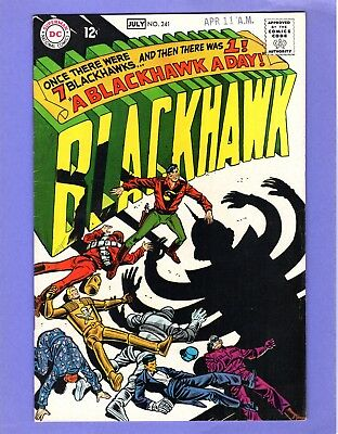 Blackhawk #241  --  Once There Were Seven...  -- --  VF-  cond.