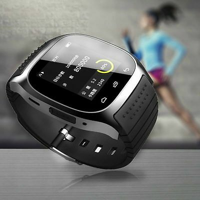 M26 impermeable Bluetooth smart inteligente watch para Android iPhone Sony IOS d