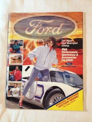 1988 Ford High Performance Sportswear and Accessories Catalog