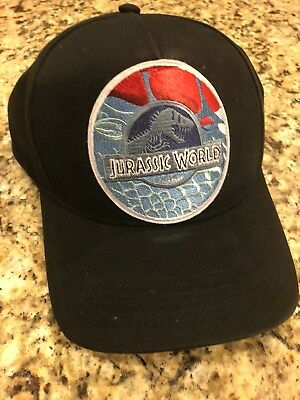 Jurassic World Hat LIMITED Embroidered Patch Cap Park Dinosaur Movie INGEN