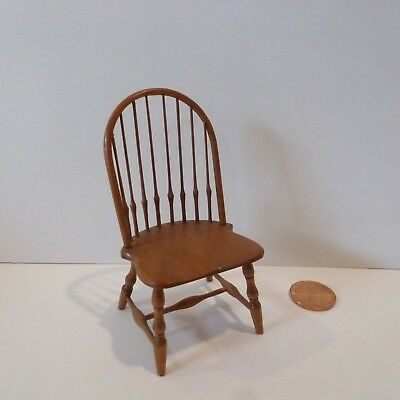 William Clinger Exquisite Miniature Wood Chair   Very Nice Quality!