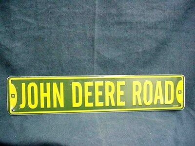 John Deere Road Aluminum Sign - New - Never Displayed