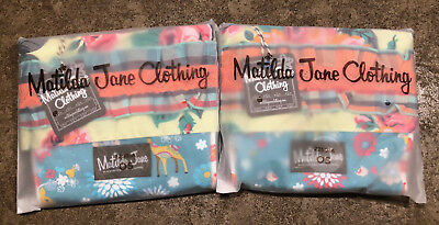 Brand New Girls Matilda Jane Once Upon A Time Baby Doe Stocking NWT Set of 2!!