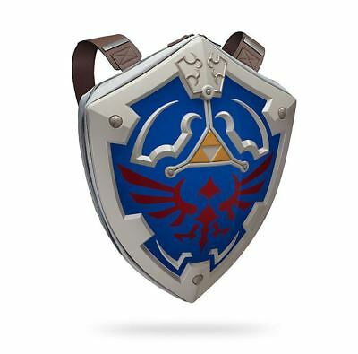 Legend of Zelda Hylian Shield Backpack Hard Shell Officially Licensed Cosplay