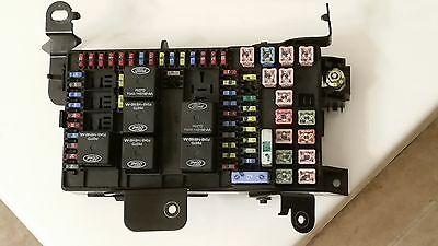 2002-2003 ford f250 f350 excursion 4wd super duty fuse box 3c3t-14a067-