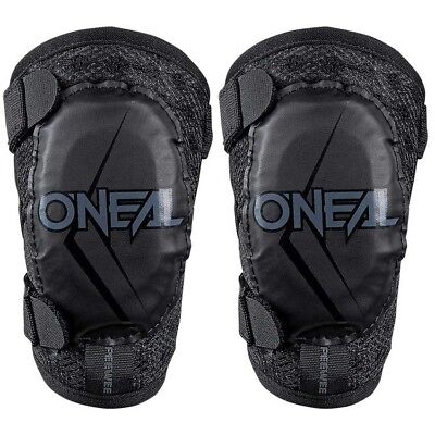 NEW Oneal MX Peewee Kids Youth Motocross Dirt Bike Black Toddler Elbow Guards