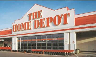 $500 Home Depot card;quantity available and free shipping!!