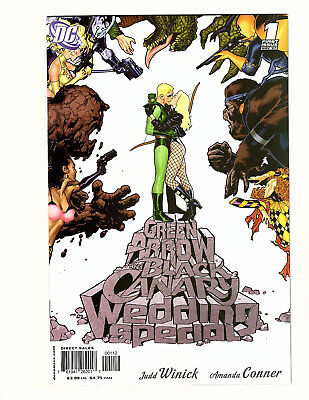 Green Arrow/Black Canary Wedding Special #1 (2007, DC) VF Ryan Sook Variant!