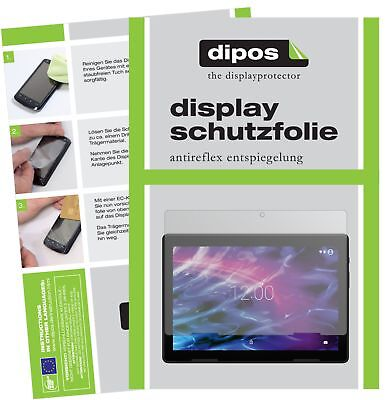 2x Medion Lifetab E10604 Schutzfolie matt Displayschutzfolie Folie Display