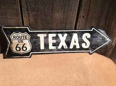 "Route 66 Missouri This Way To Arrow Sign Directional Novelty Metal 17/"" x 5/"""