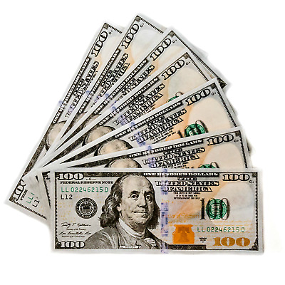 Empire Rolling Benny Rolling Papers and Tips $100 Bill Benny (1 pack/wallet)