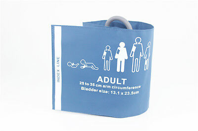 Reusable NIBP cuff, adult, single tube with bladder, 25-35cm, C6711 compatible