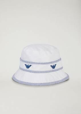 783063161ea NEW ARMANI JUNIOR Hat With Embroidered Logos -  78.00