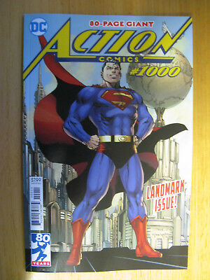 Action Comics #1000, 80 Page Landmark Issue - Regular Cover 1St Print.