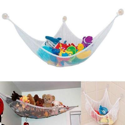 Small Jumbo Toy Hammock Net - Organize Stuffed Animals And Kids Bath Toys ONE