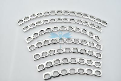 Reconstruction Bone Plates Curved 3.5mm 7 Pieces Set of Orthopedic Instruments
