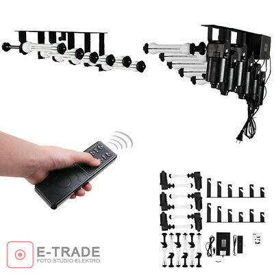 6 Roller Wall Ceiling Mount Studio ELECTRIC Elevator Background Support System