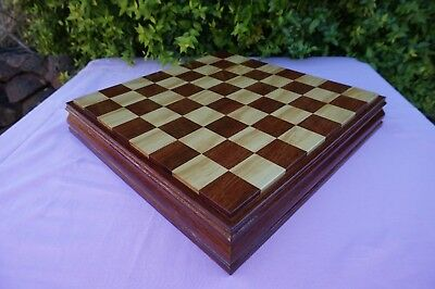 Custom Made Quality Chess Board. Board Only.