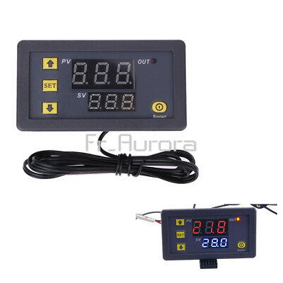 W3230 LCD 12V Digital Thermostat Temperature Controller Meter Regulator 20A