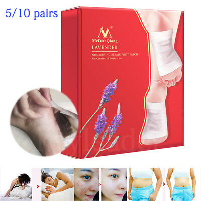 10 Pairs Detox Foot Patch Pads Feet Patches Remove Body Toxins Weight Loss KE