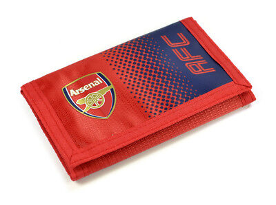 Arsenal Nylon Wallet Official Licensed Merchandise Free Postage