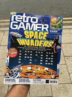 Retro Gamer Magazine Issue 185 September 2018 Space Invaders 40Th Anniversary