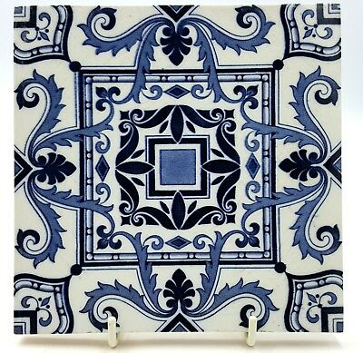 Minton China Work Stock on Trent tile early 20th century