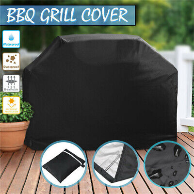 BBQ Cover 2/4 Burner Waterproof Outdoor Gas Charcoal Barbecue Grill UV Protector