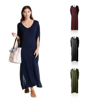 Marks & Spencer M&S Collection T523148 Angel Sleeve Jersey Maxi Dress RRP £25