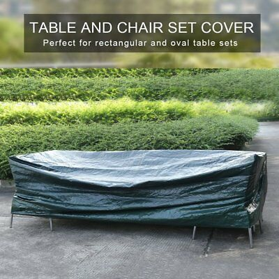 Water Resistance Patio Furniture Cover Outdoor Table Chairs Bench Protection MA