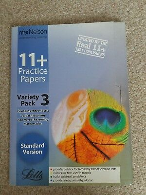 11+ practice papers variety pack 3