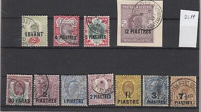 Br. Levante - colection old stamps - luxus used - used - very good