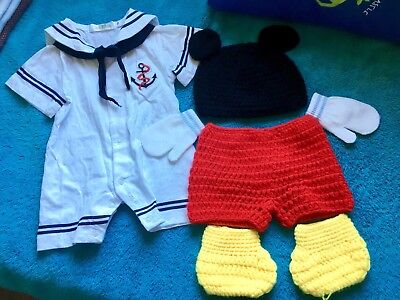 MickeyMouse and Sailor costume